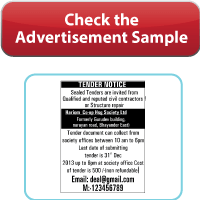 View lowest discounted advertisement rates for Bandra Borivali Plus's Classified Recruitment Ad, Obituary Ad, Public Notice Ad.